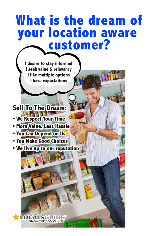 location aware customers are valuable