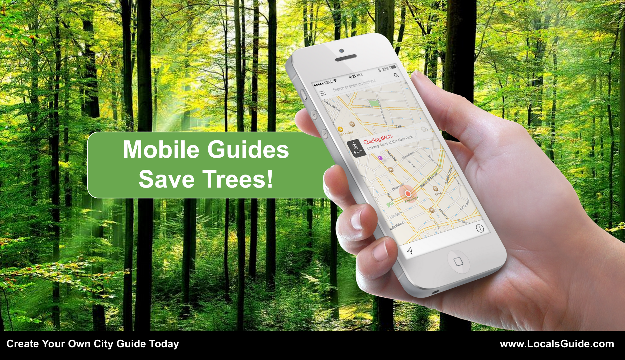 Mobile Guides Save Trees